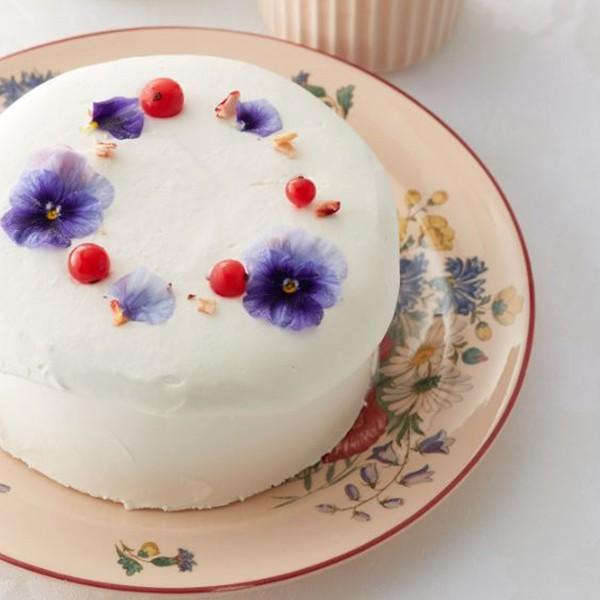 【母の日】[THE PLAIN SWEETS]アイスケーキ(フラワー)