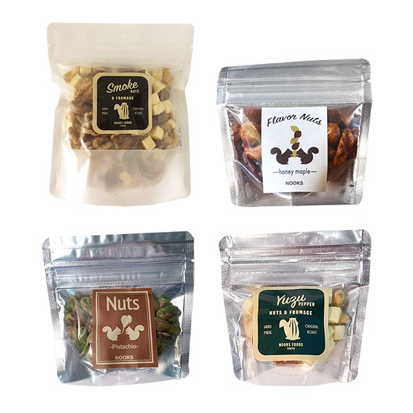 【母の日】[NOOKS FOODS]おつまみナッツ 4種セット