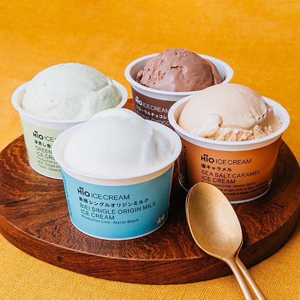[HiO ICE CREAM]クラフトアイスクリーム 4種のギフトセット